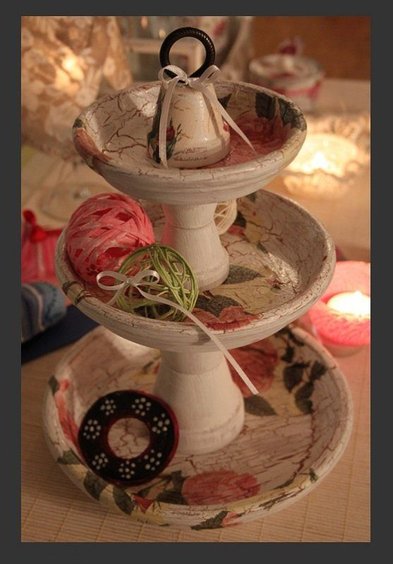 Kreativ mit Gonis | Gonis | Clay pot crafts, Christmas dyi ...