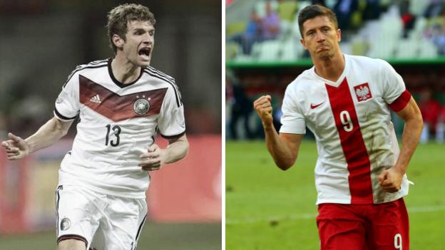 Alemania vs. Polonia fecha, hora y canal por Eurocopa