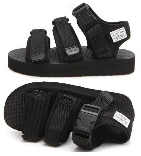 Pavement ERIN - Sandalias con plataforma - black black