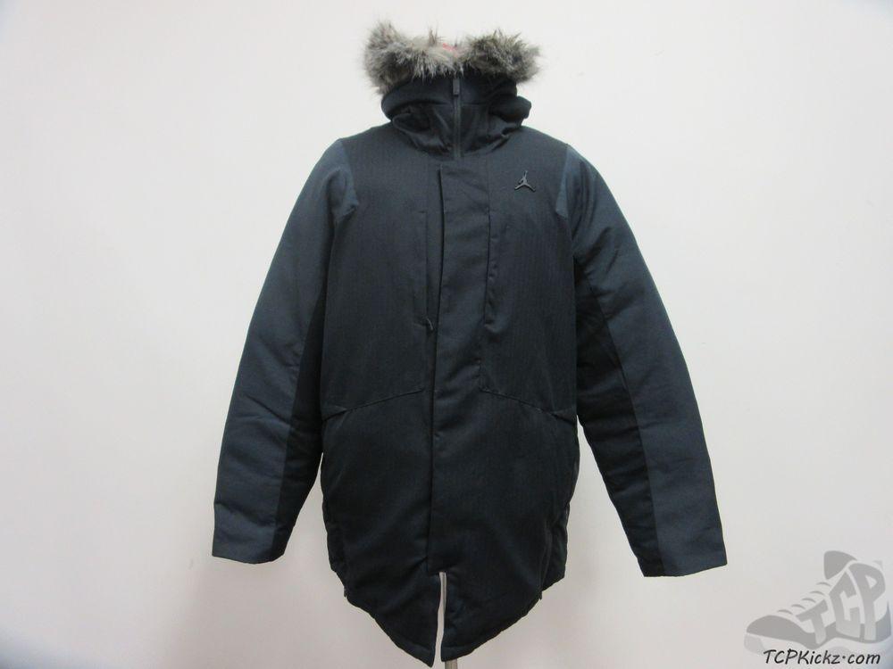 517741ffd599 Nike Air Jordan Modern Snorkel 3.0 Parka Coat sz L Large Faux Fur NWT jacket   Jordan  BasicCoat  tcpkickz