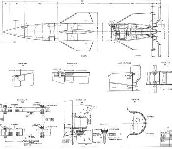 Space Drawing set 22: V-2 rocket engine diagrams » The ... on