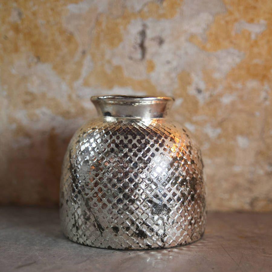 Antique sparkling silver glass vase christmas presents pinterest antique sparkling silver glass vase reviewsmspy