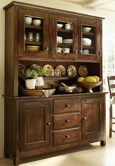 Elegant Benchwright Buffet. Dining Room HutchKitchen ...