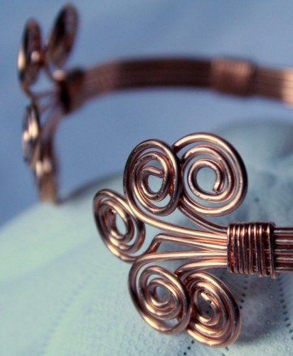 copper wire fewlery inspirations | anna copper wire wrapped bracelet anna copper wire wrapped bracelet