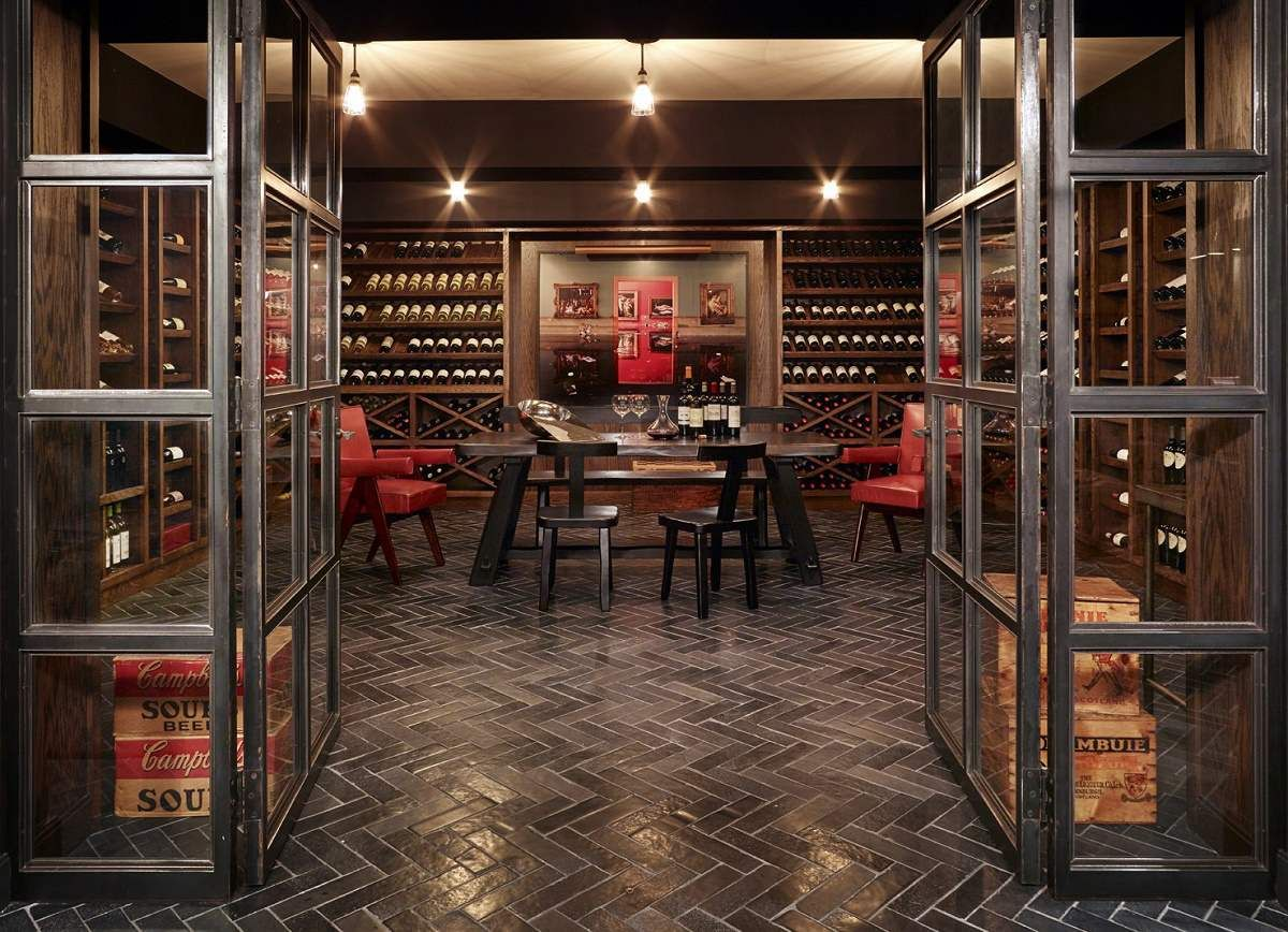 Modern Luxury Design Greenwich Estate Home Wine Cellars Wine