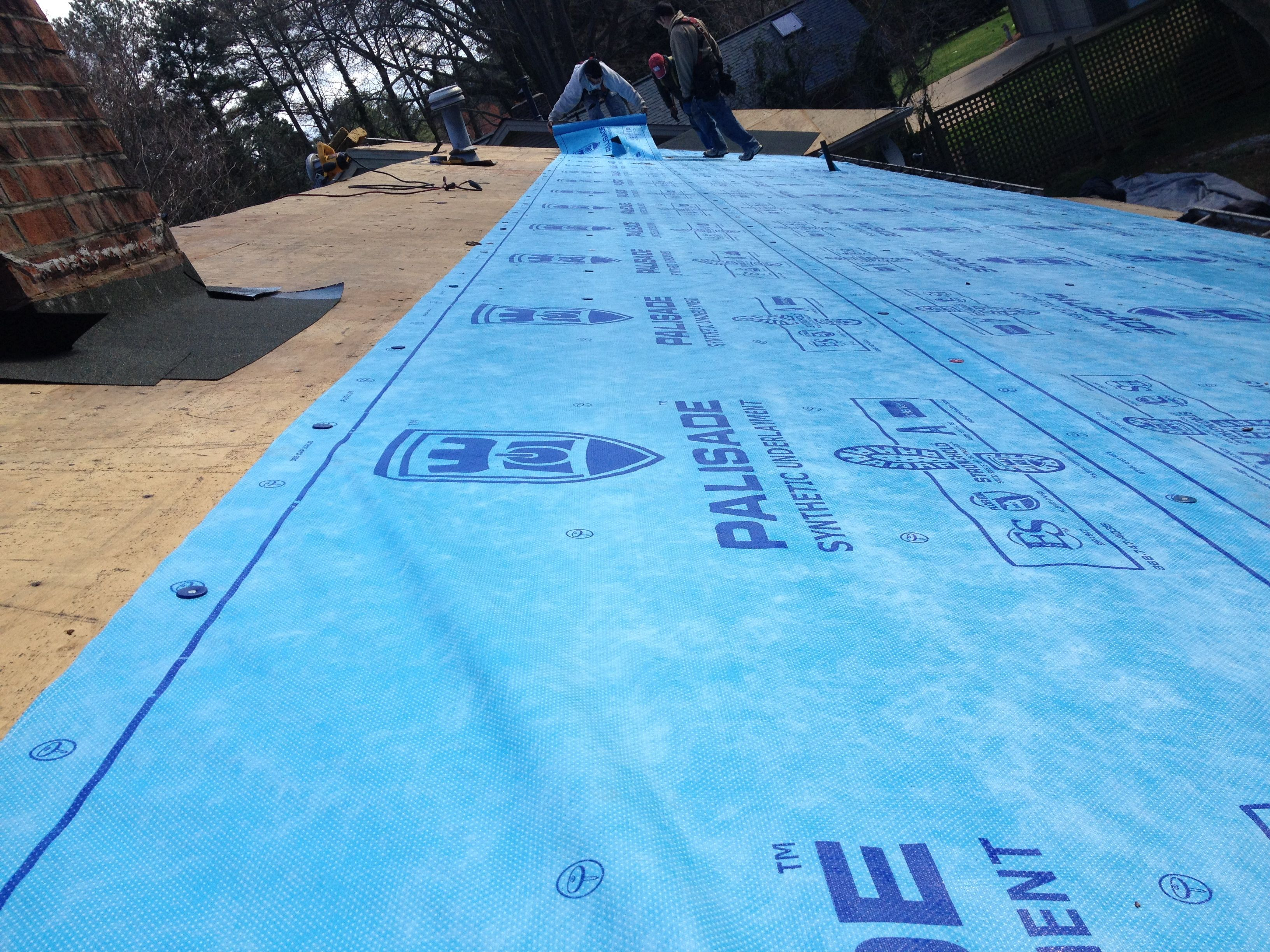 PALISADE Synthetic Roofing Underlayment