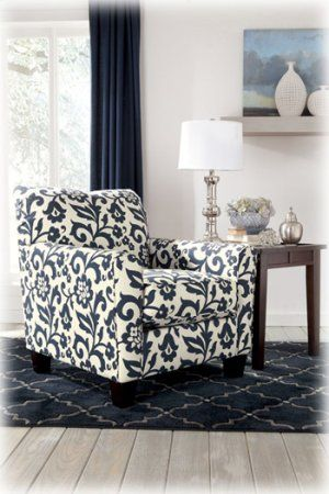 Superior 5640021 In By Ashley Furniture In Radford, VA   Accent Chair/keendre/indigo