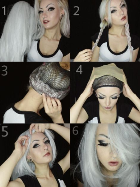 How to make a wig look like your natural hair