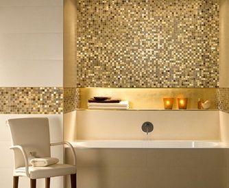 Gouden Mozaiek Tegels : Besparen op uw begroting niet bij tegelsale met de serie one