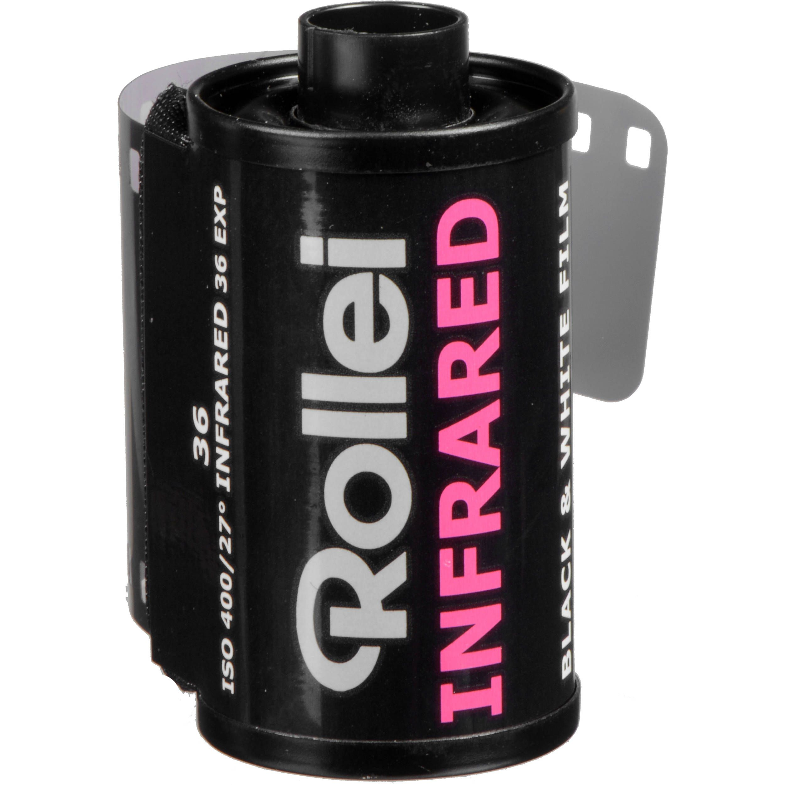 Rollei Infrared 400 Black and White Negative Film (35mm Roll Film, 36 Exposures)