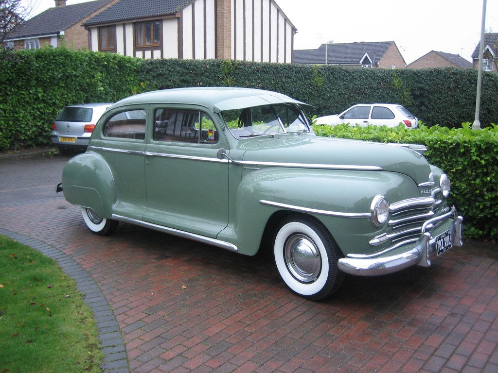 1948 P15 With Fender Skirts Classic Mopars Pinterest