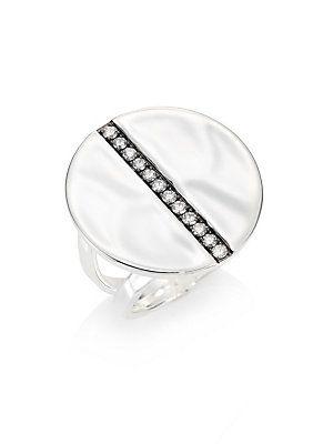IPPOLITA Senso™ Diamond & Organic Sterling Silver Ring - Sil