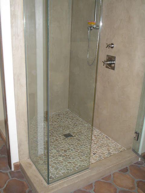 Everything Stucco SHOWER FINISH Bathtub walls, Finished