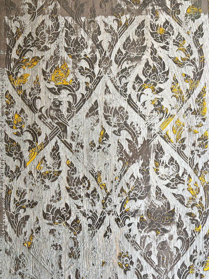thai temple mural thai painting pinterest tha tha lande et greige. Black Bedroom Furniture Sets. Home Design Ideas
