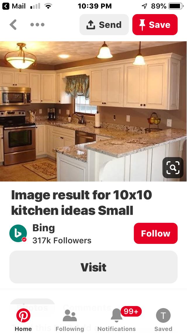Small Kitchen Design 10x10: Pin By Teresa Ferrell On Kitchen Design