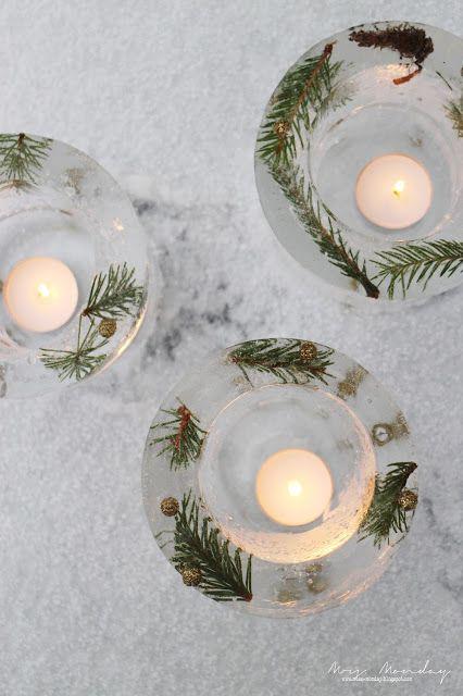 diy islykter // diy ice lanterns