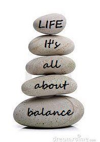 Life it's all about balance #quote