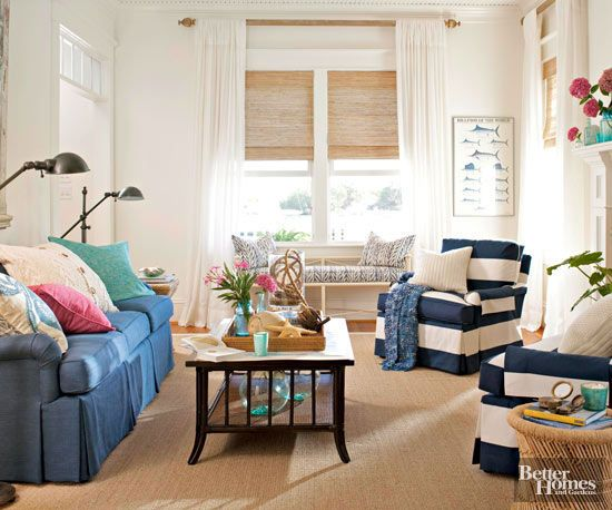 Small-Room Solutions: Living Rooms | Painting woodwork, Space ...