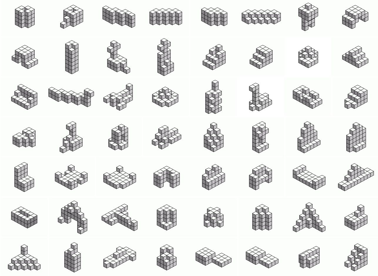 1000  images about Soma cube - Nikitin's cube on Pinterest