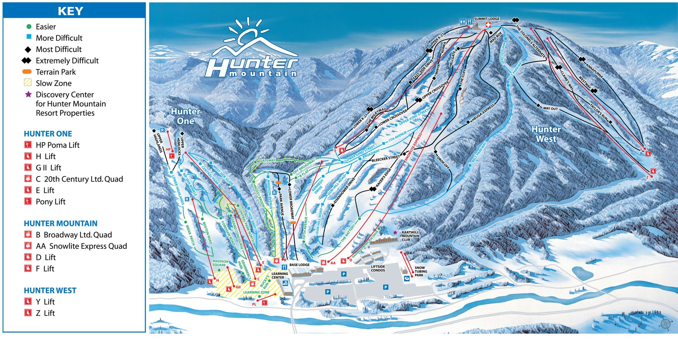 hunter mountain ski resort in hunter, ny | hunter mountain