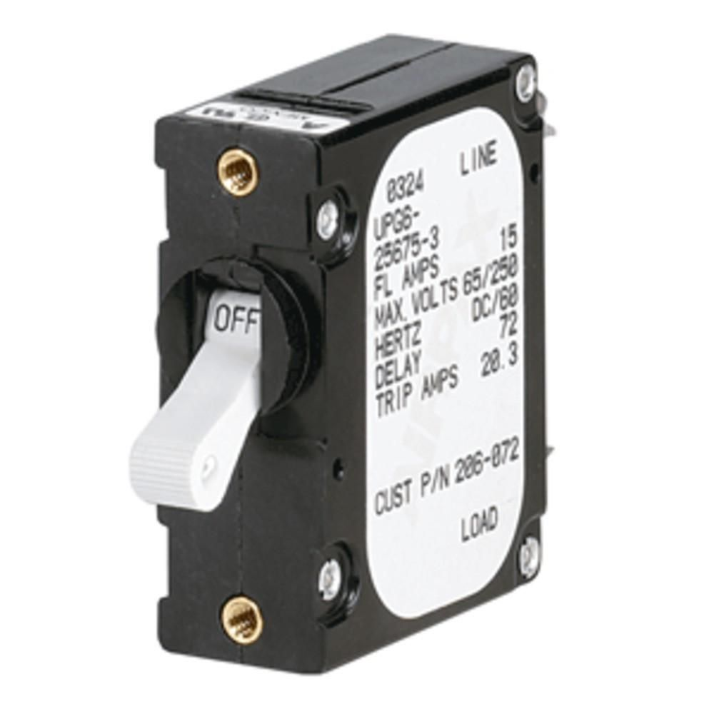 Paneltronics A Frame Magnetic Circuit Breaker 5 Amps Single Pole Standards And Description Of Circuitbreakers Electrical