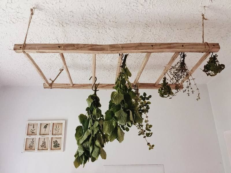 How To Choose The Best Herb Drying Rack Indoor Garden Nook The Design Of Gardens Balconies And Terraces Is Am In 2020 Herb Drying Racks Garden Nook Garden Rack