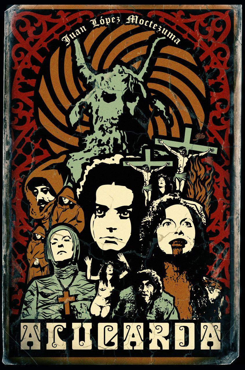 Alucarda Movie Poster | Satanic movie, Book cover art, Film art