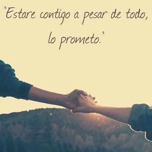 Una promesa, debería ser una promesa....