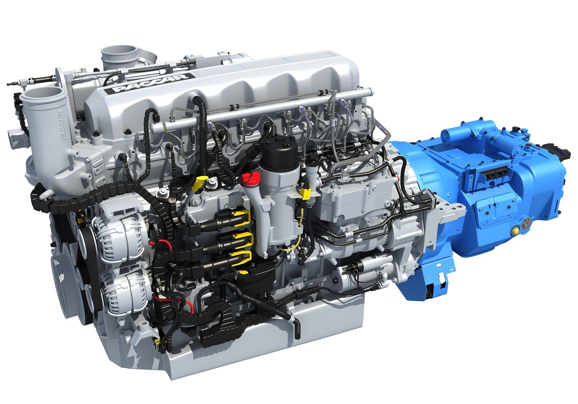 Paccar MX-13 Engine with Transmission | Engines for Every