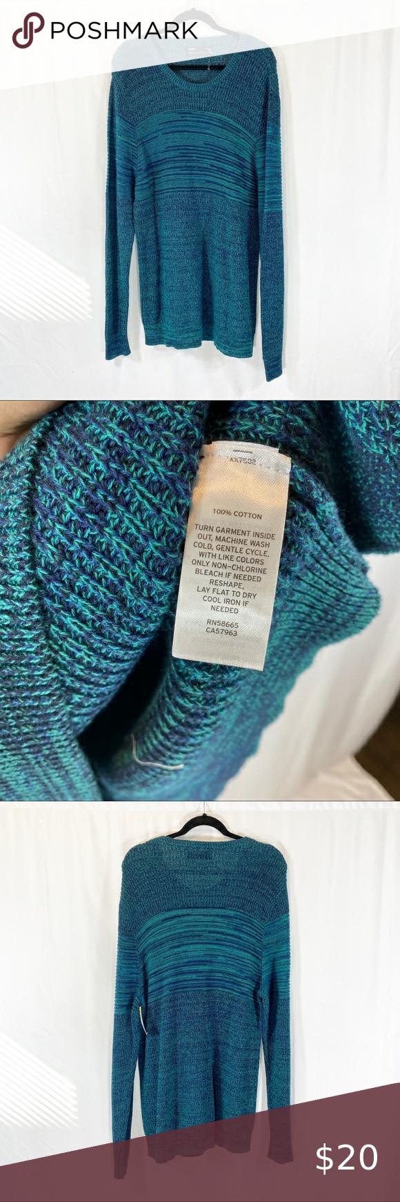 Sale 3 35 Public Opinion Multi Stich Sweater Sale 3 35 Public Opinion Green Multi Stich Sweater Size Large N Clothes Design Fashion Trends Sweater Sale
