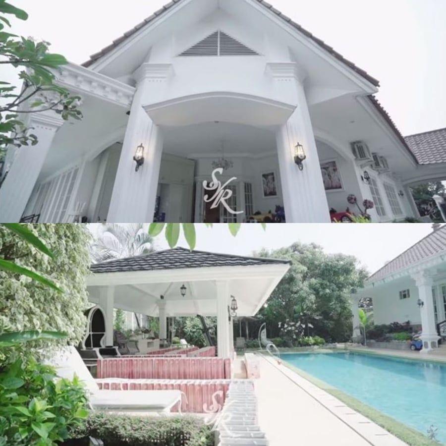 Desain Rumah Mewah Artis Indonesia - Desain Dekorasi Rumah