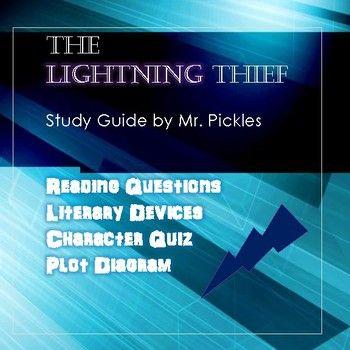 The Lightning Thief Lesson Plans Study Guide And Reading Questions