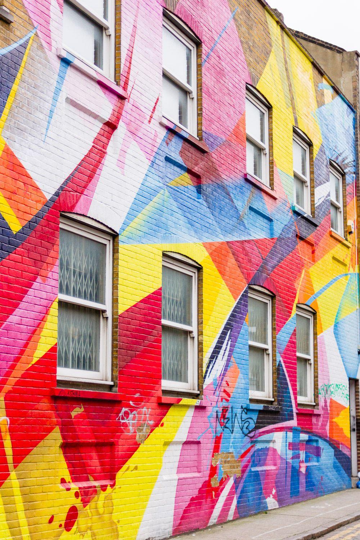 Shoreditch Graffiti: Show Me Your Walls, Shoreditch!