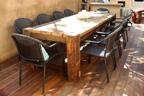 rustic outdoor dining table images furniture benches reclaimed wood small
