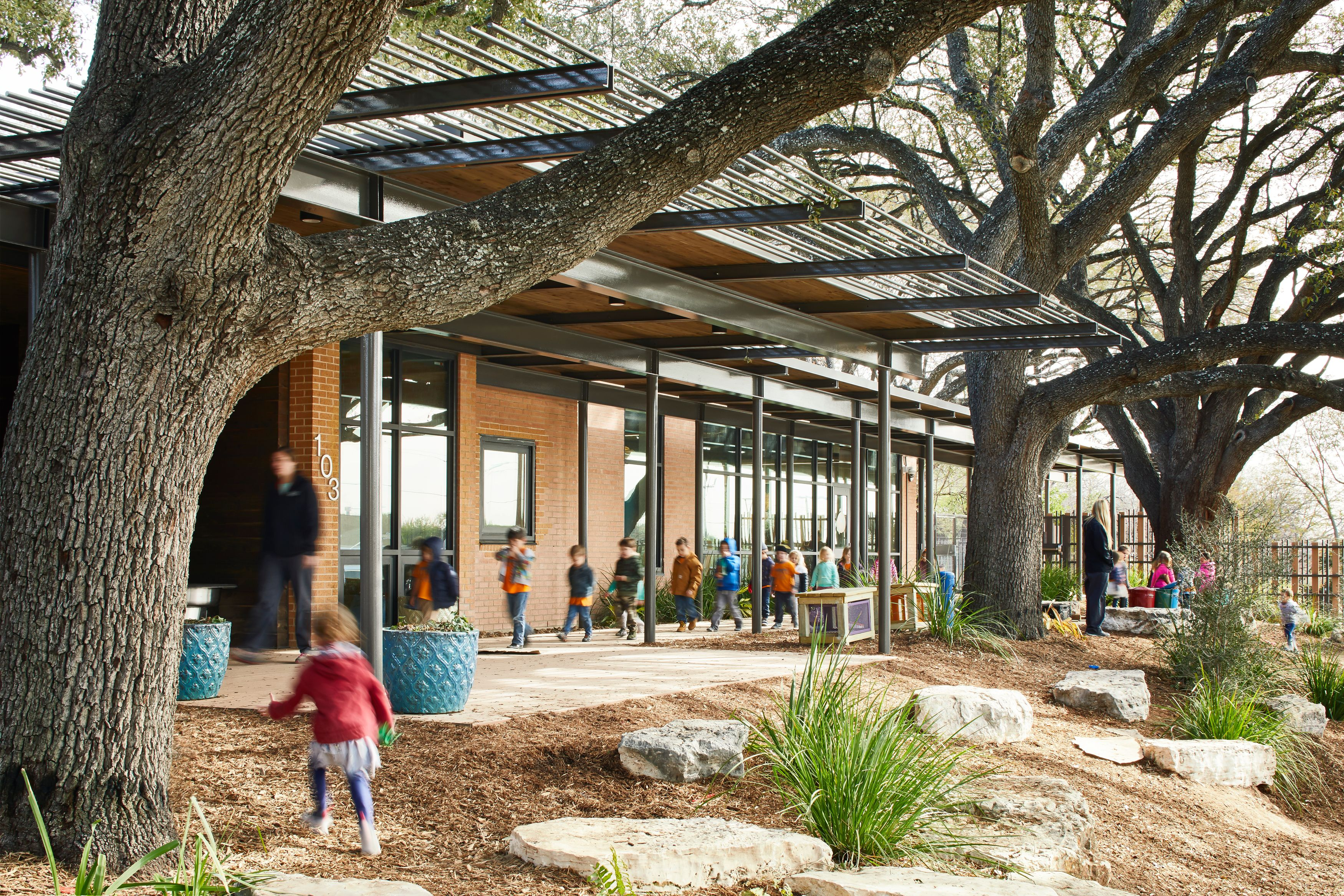 The San Antonio Zoo School Is The Largest Nature Based Pre School In