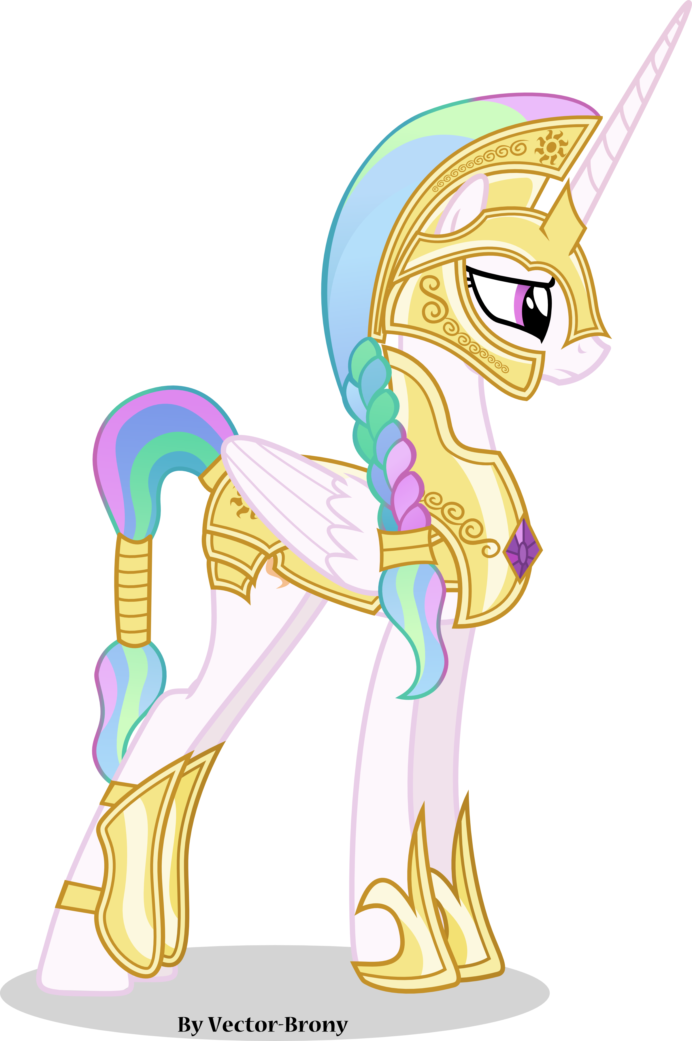 Princess+Celestia+going+to+war+with+helmet+by+Vector-Brony ...