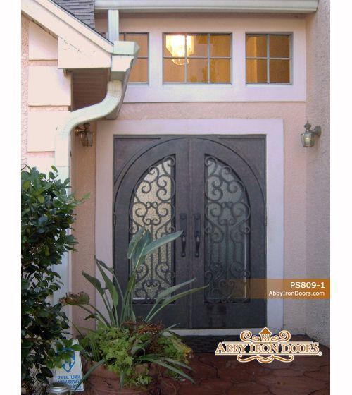 Abby Iron Doors & Abby Iron Doors   Home   Pinterest   Iron Doors and Front doors pezcame.com