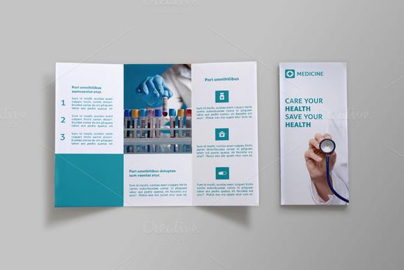 Medicine Tri-fold Brochure - Doc by NEXDesign on @creativemarket ...