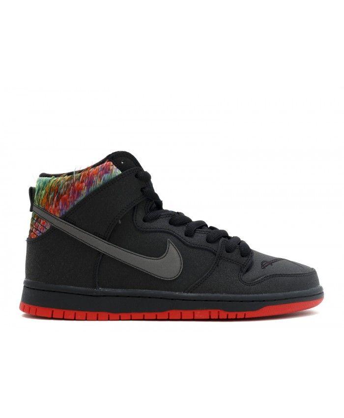 Nike Unisex's Skate Shoes Dunk High Premium SB NightShade / NightShade
