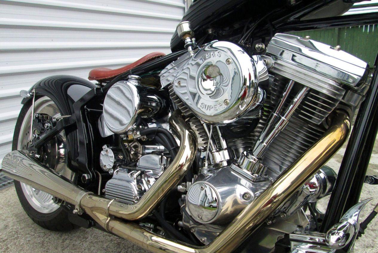 Softail custom Custom bikes, Cool bikes