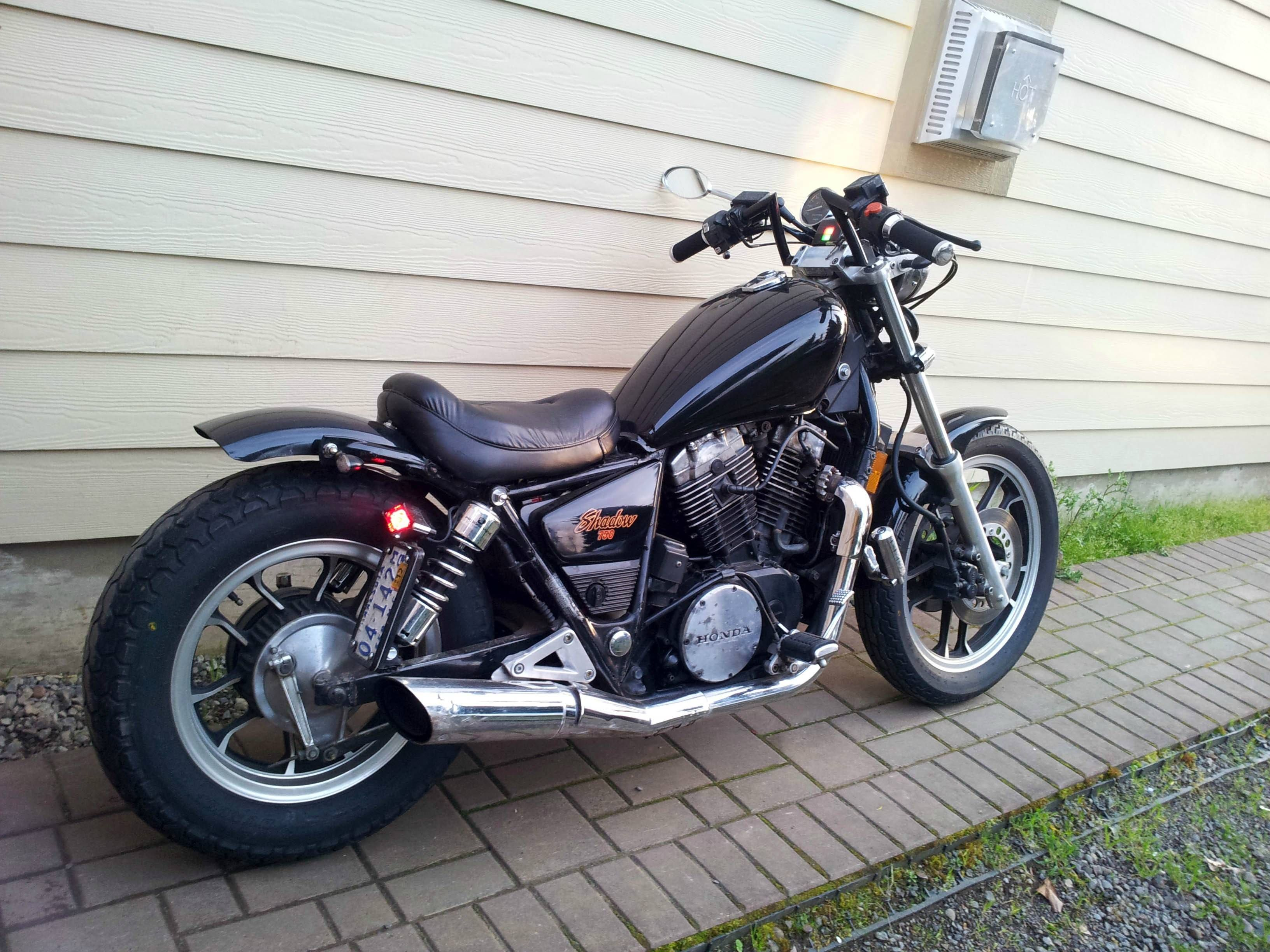 My 83 Shadow 750 Bobber - Honda Shadow Forums : Shadow Motorcycle Forum