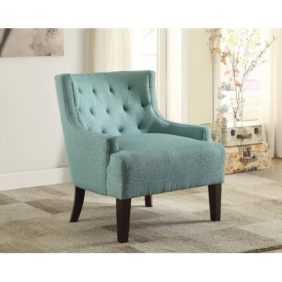 Andover Mills™ Newry Armchair Upholstery: Teal, Cotton/Cotton Blend, Size 35