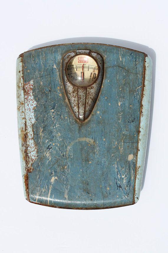 Vintage Scale BorkErickson 250 pound bathroom scale
