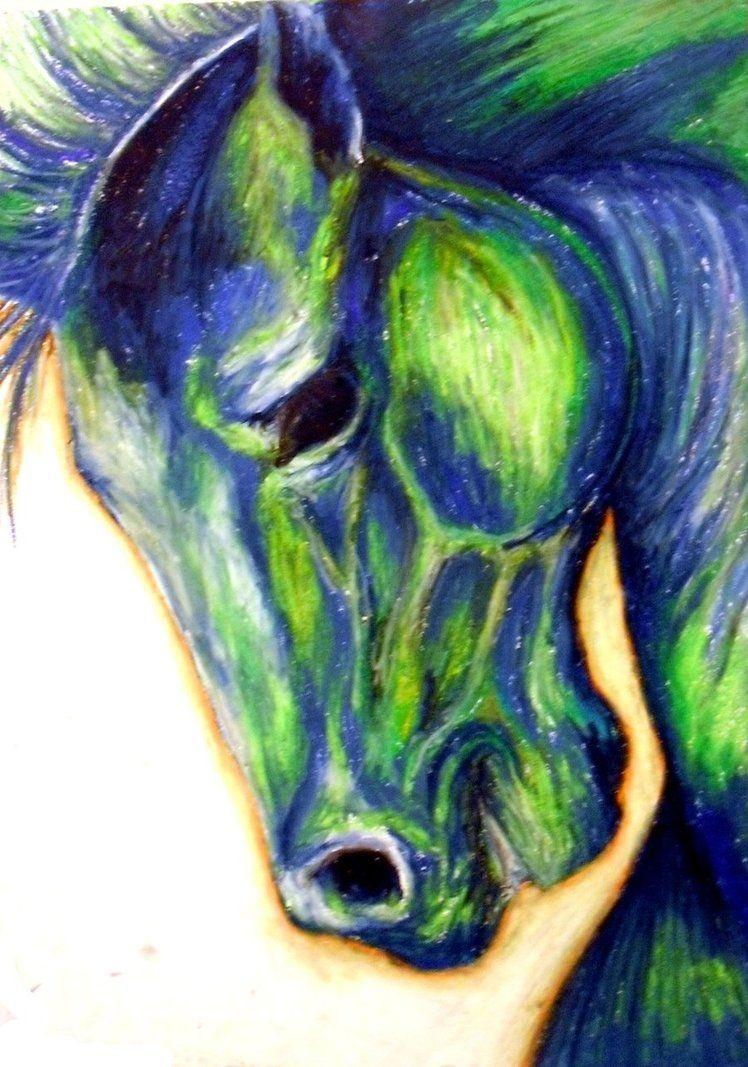 Franz Marc - Blue Horse, 1911 at Lenbachhaus Art Gallery Munich ...