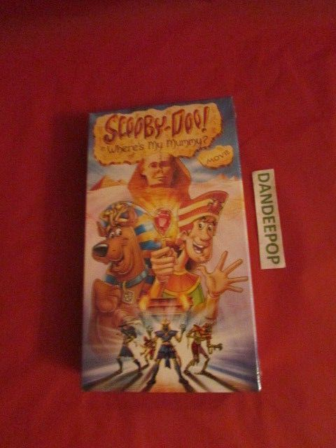 scooby doo in wheres my mummy vhs