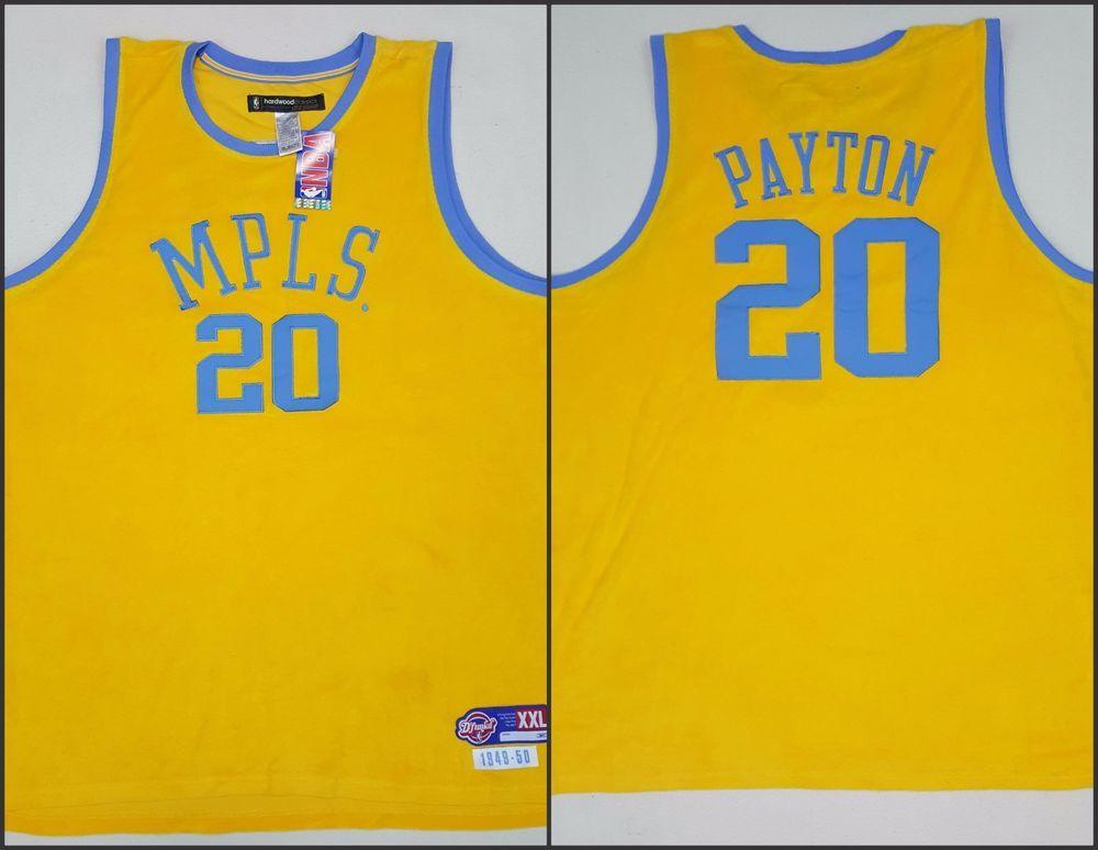 1bc69ecb Minneapolis Lakers Gary Payton MPLS Hardwood Classics NBA Reebok Jersey  Size 2XL #payton #lakers #LosAngelesLakers