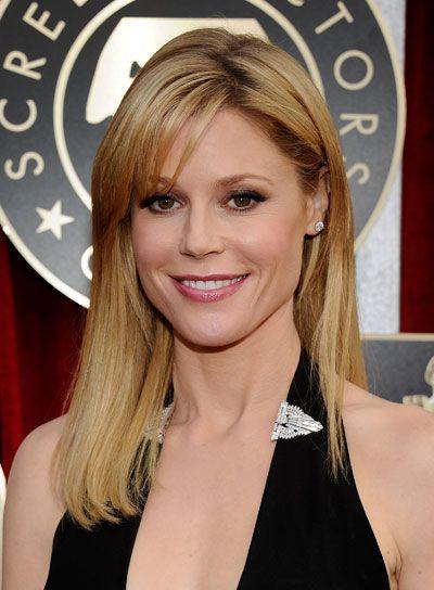 Medium straight hairstyles with bangs julie bowen blonde julie bowen medium straight blonde hairstyle with bangs urmus Gallery