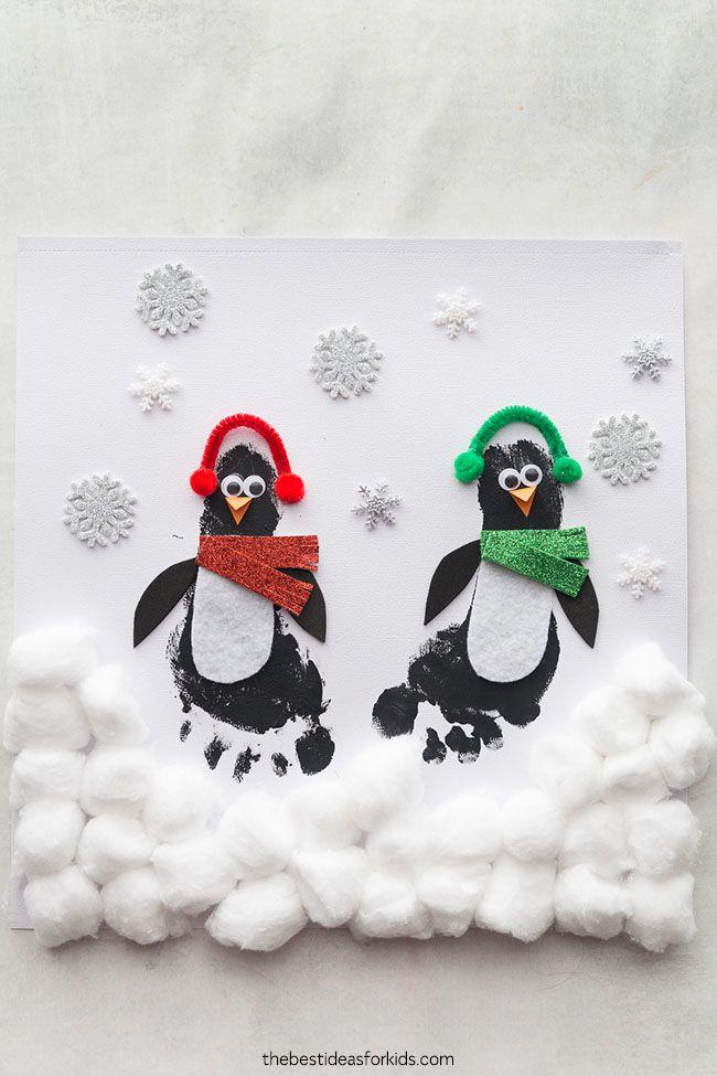 Penguin Footprint - The Best Ideas for Kids