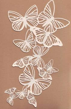 Mariposas | Calado | Pinterest | Paper cutting