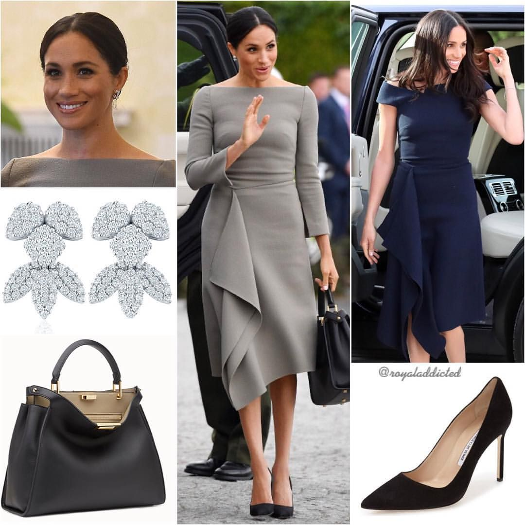 duchess of sussex style dres roland mouret dress meghan markle outfits meghan markle style roland mouret dress meghan markle